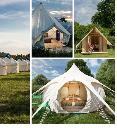 Fancy Glamping for Glastonbury Festival? Get a Room Soon.