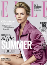 ELLE UK JUNE 2015 Cover Charlize Theron Main BLOG